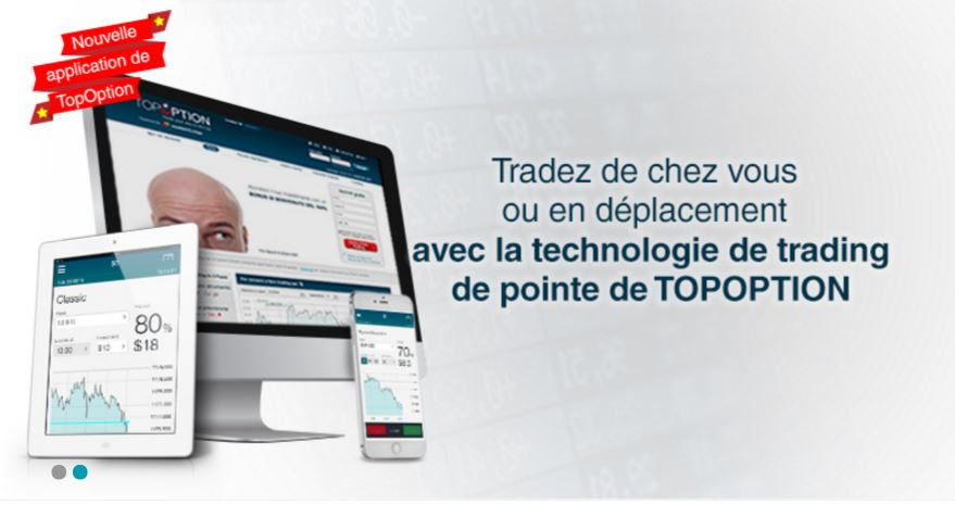 Trader option binaire