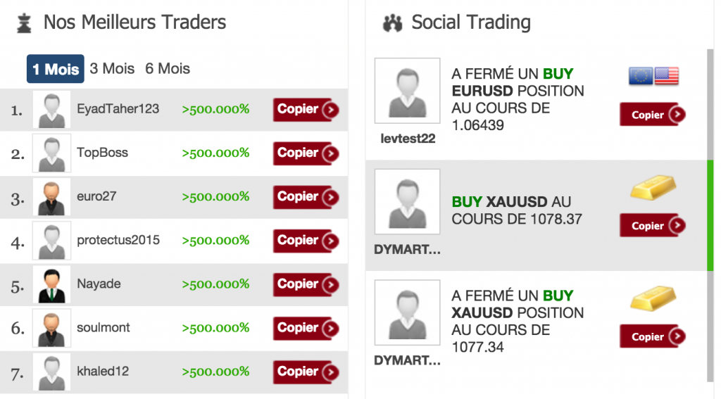 nessfx social trading